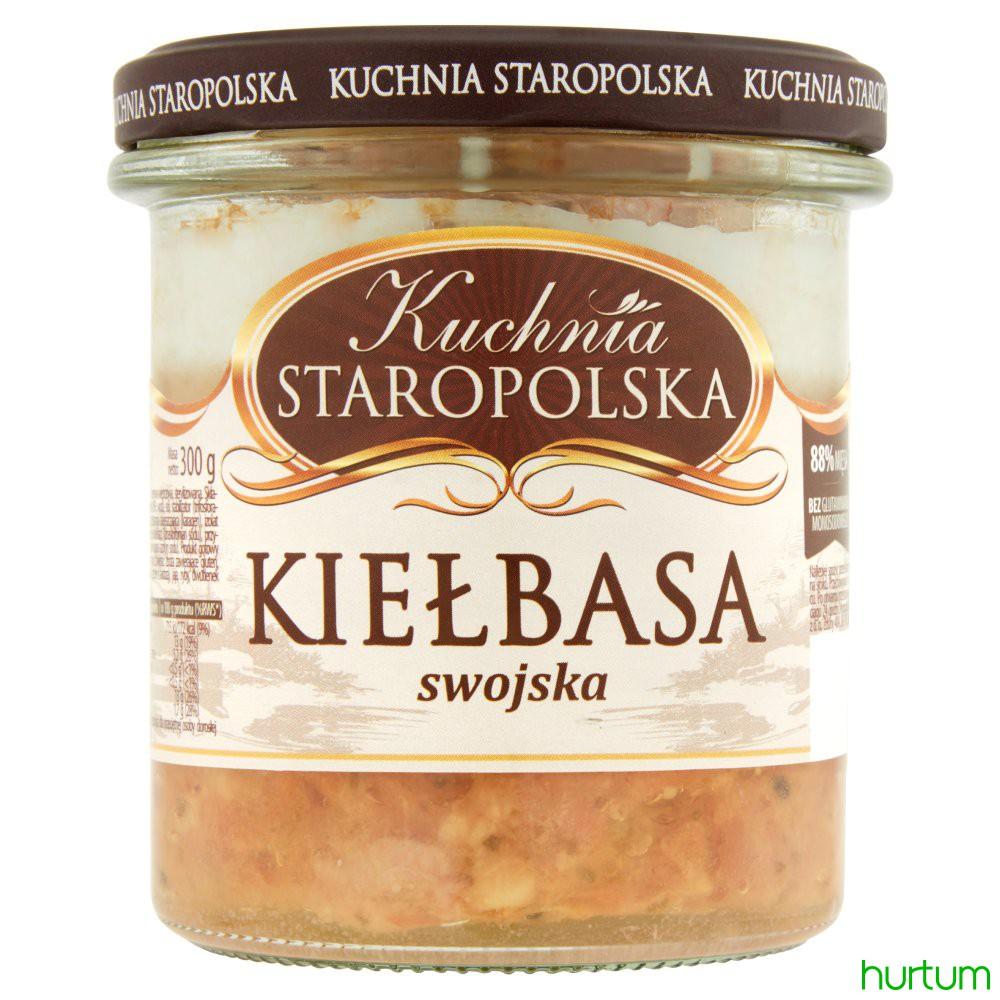 Kuchnia Staropolska Kiełbasa Swojska 300 G W Hurtumpl